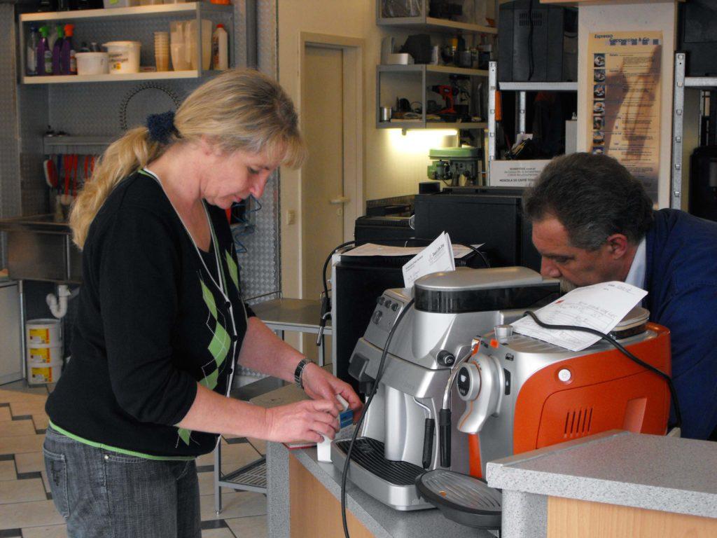 Beany's Caffe-Shop Reparaturannahme