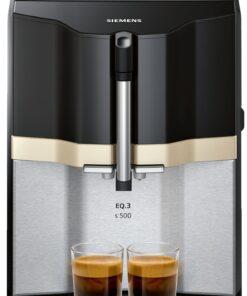 Siemens EQ.3 s500 Kaffeevollautomat Edelstahl