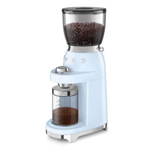 smeg Kaffeemühle Pastell Blau