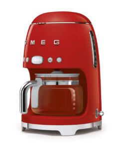 smeg Filterkaffemaschine Rot