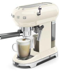 smeg Espressomaschine creme