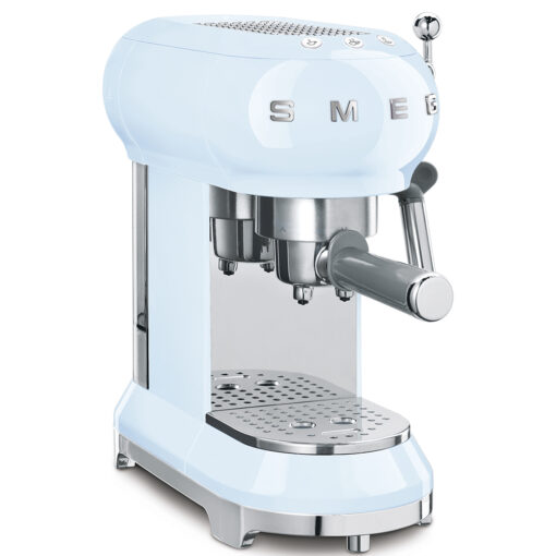 smeg Espressomaschine Pastell Blau