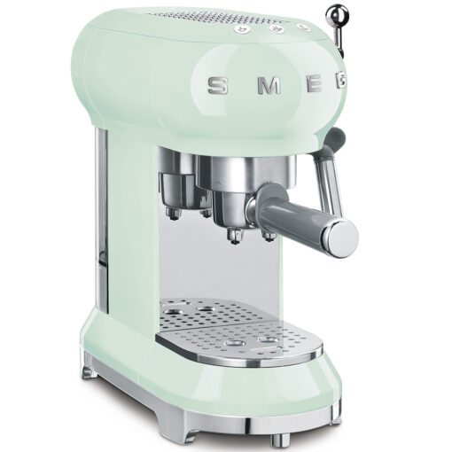 smeg Espressomaschine Pastell Grün