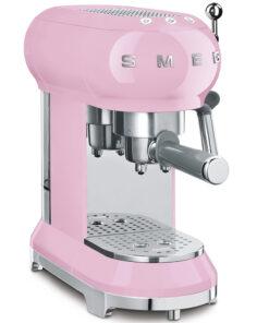 smeg Espressomaschine Cadillac Pink