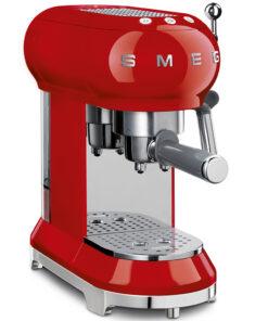 smeg Espressomaschine Rot